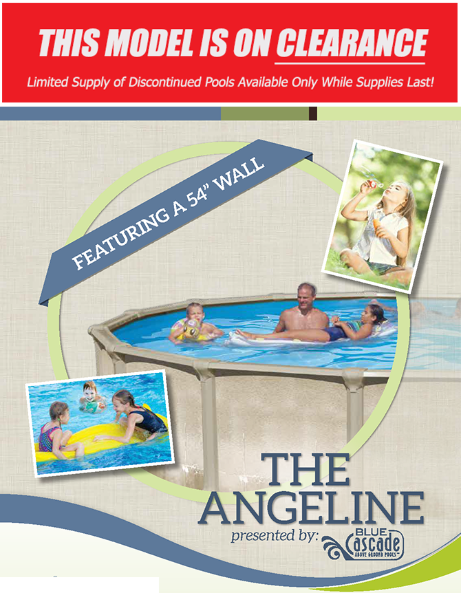Aluminum  Above-Ground Swimming Pool - the Angeline
