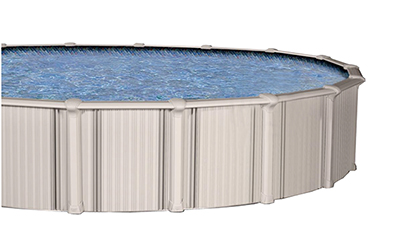 the Barron Aluminum Above-Ground Pool