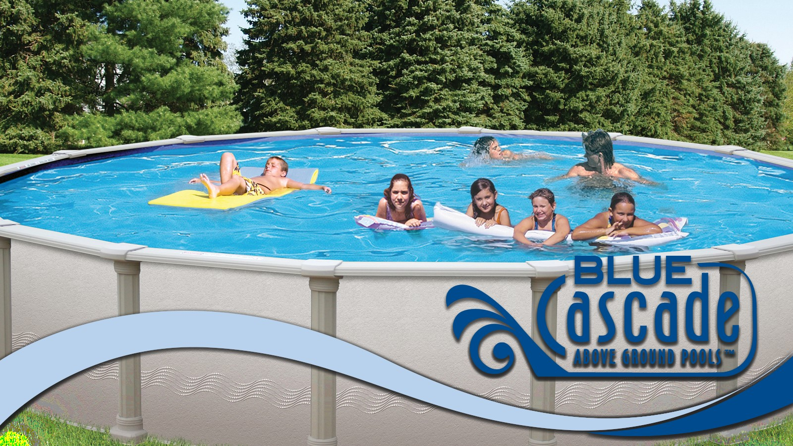 Above Ground Pools | Blue Cascade Pools | Financing Available!