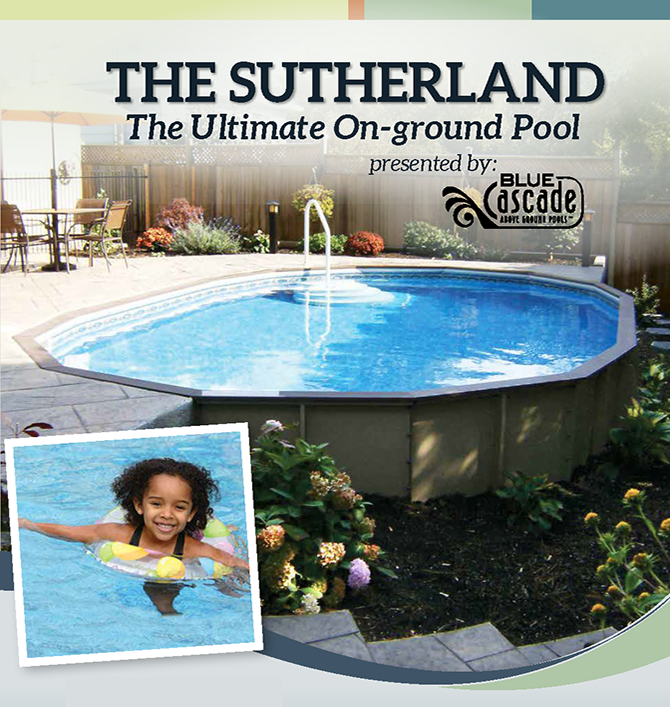 the Sutherland Semi-On-Ground Pool